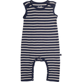 Elkline Beachbaby Overall Kinder blueshadow-white